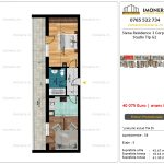 Apartamente de vanzare Siena Residence 3-Corp 4-sc2- Studio tip G2