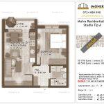 Apartamente de vanzare Titan - Malva Residential 1 - studio tip A
