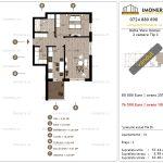 Apartamente de vanzare Delta View Homes-2 camere tip C