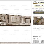 Apartamente de vanzare Ilioara Villa Apartments 3 -2 camere tip B-v