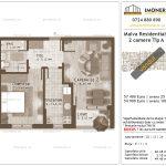 Apartamente de vanzare Titan - Malva Residential 1 -2 camere tip A