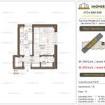 Apartamente de vanzare Top Class Residence 5 -Corp2 - garsoniera tip 1