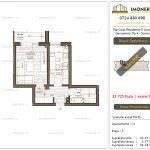 Apartamente de vanzare Top Class Residence 5 -Corp2 - garsoniera tip 4