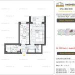 Apartamente de vanzare Top Class Residence 5 -Corp2 - garsoniera tip 5