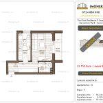 Apartamente de vanzare Top Class Residence 5 -Corp2 - garsoniera tip 8