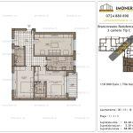 Apartamente de vanzare Brancoveanu Residence 12 -3 camere tip C-v