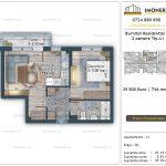 Apartamente de vanzare Burnitei Residential 4 -2 camere tip A1