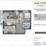 Apartamente de vanzare Burnitei Residential 4 -2 camere tip A12