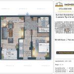 Apartamente de vanzare Burnitei Residential 4 -2 camere tip A16-22