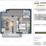 Apartamente de vanzare Burnitei Residential 4 -2 camere tip A9