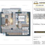 Apartamente de vanzare Burnitei Residential 4 -2 camere tip B10