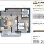 Apartamente de vanzare Burnitei Residential 4 -2 camere tip B11