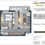 Apartamente de vanzare Burnitei Residential 4 -2 camere tip B15