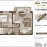 Apartamente de vanzare Burnitei Residential 4 -2 camere tip B16