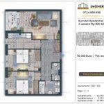 Apartamente de vanzare Burnitei Residential 4 -2 camere tip B20-B28