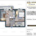 Apartamente de vanzare Burnitei Residential 4 -2 camere tip B9