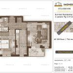 Apartamente de vanzare Burnitei Residential 4 -2 camere tip C17-C25
