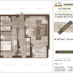 Apartamente de vanzare Burnitei Residential 4 -2 camere tip C19-C27