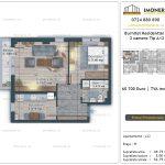 Apartamente de vanzare Burnitei Residential 5 -2 camere tip A11