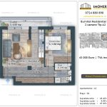Apartamente de vanzare Burnitei Residential 5 -2 camere tip A2