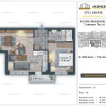 Apartamente de vanzare Burnitei Residential 5 -2 camere tip A4
