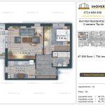 Apartamente de vanzare Burnitei Residential 5 -2 camere tip A6