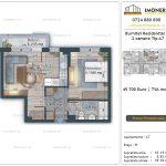Apartamente de vanzare Burnitei Residential 5 -2 camere tip A7