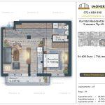 Apartamente de vanzare Burnitei Residential 5 -2 camere tip A9