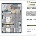 Apartamente de vanzare Burnitei Residential 5 -2 camere tip B20-B28