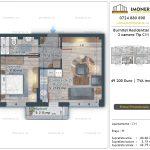 Apartamente de vanzare Burnitei Residential 5 -2 camere tip C11