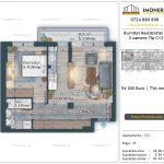 Apartamente de vanzare Burnitei Residential 5 -2 camere tip C13