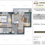 Apartamente de vanzare Burnitei Residential 5 -2 camere tip C14