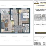 Apartamente de vanzare Burnitei Residential 5 -2 camere tip C15-C23