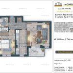 Apartamente de vanzare Burnitei Residential 5 -2 camere tip C16-C24