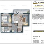 Apartamente de vanzare Burnitei Residential 5 -2 camere tip C8