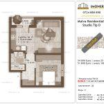 Apartamente de vanzare Titan - Malva Residential 1 -Studio tip D