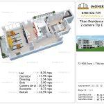 Apartamente de vanzare Titan Residence - 2 camere tip E