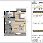 Apartamente de vanzare Vitan Apartments -2 camere tip A1