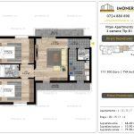 Apartamente de vanzare Vitan Apartments -3 camere tip B1