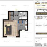 Apartamente de vanzare Vitan Apartments -Garsoniera tip A2