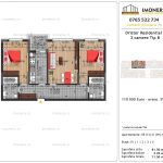 Apartamente de vanzare Dristor Residential 3 -3 camere tip B