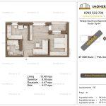 Apartamente de vanzare Pallady Boulevard Apartments -Studio tip A4'