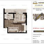 Apartamente de vanzare Siena Residence 3-Corp 2-Studio tip C