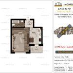 Apartamente de vanzare Siena Residence 3-Corp 3-Garsoniera tip A