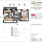 Apartamente de vanzare Aparatorii Patriei Apartments-2 camere tip B'