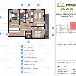 Apartamente de vanzare Aparatorii Patriei Apartments-3 camere tip A