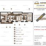 Apartamente de vanzare Aparatorii Patriei Apartments-3 camere tip B+
