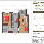 Apartamente de vanzare Splaiul Unirii Residence 2 -2 camere tip C1