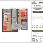 Apartamente de vanzare Splaiul Unirii Residence 2 -2 camere tip F1