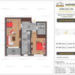 Apartamente de vanzare Splaiul Unirii Residence 2 -2 camere tip G2